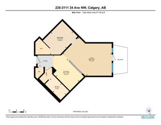 Photo 5: 235 3111 34 Avenue NW in Calgary: Varsity Apartment for sale : MLS®# A1117095