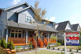 """Photo 1: 1233 E 13 AV in Vancouver: Mount Pleasant VE 1/2 Duplex for sale in """"MOUNT PLEASANT"""" (Vancouver East)  : MLS®# V1019002"""