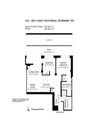 """Photo 38: 103 3811 HASTINGS Street in Burnaby: Vancouver Heights Condo for sale in """"MONDEO"""" (Burnaby North)  : MLS®# R2561997"""