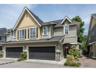 """Photo 1: 22 7171 STEVESTON Highway in Richmond: Broadmoor Townhouse for sale in """"CASSIS"""" : MLS®# R2181164"""