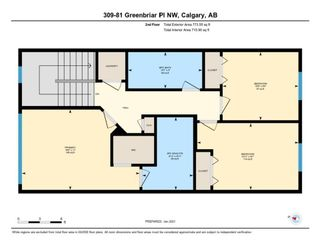 Photo 33: 309 81 Greenbriar Place NW in Calgary: Greenwood/Greenbriar Row/Townhouse for sale : MLS®# A1058995