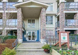 "Photo 1: 106 290 FRANCIS Way in New Westminster: Fraserview NW Condo for sale in ""THE GROVE"" : MLS®# R2561752"