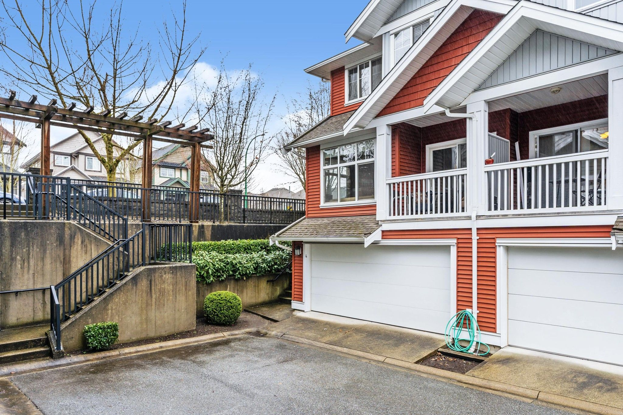 "Main Photo: 4 6785 193 Street in Surrey: Clayton Townhouse for sale in ""Madrona"" (Cloverdale)  : MLS®# R2554269"