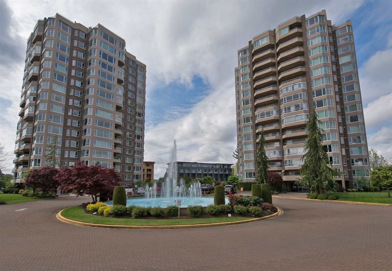 """Main Photo: 902 3170 GLADWIN Road in Abbotsford: Central Abbotsford Condo for sale in """"Regency Park Towers"""" : MLS®# R2327745"""