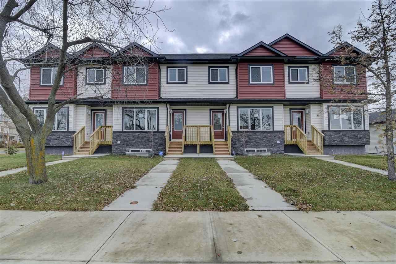 Main Photo: 10205 114 Avenue in Edmonton: Zone 08 Townhouse for sale : MLS®# E4219414