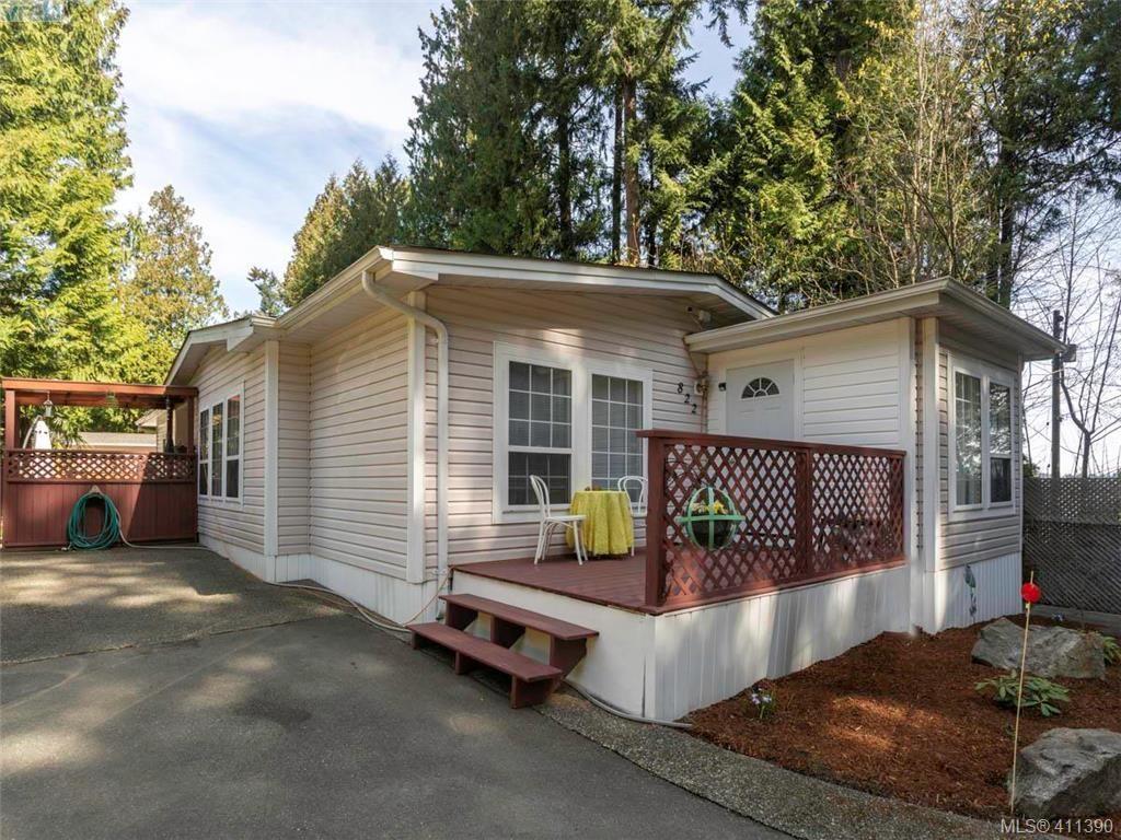 Main Photo: 822 2779 Stautw Rd in SAANICHTON: CS Hawthorne Manufactured Home for sale (Central Saanich)  : MLS®# 815490