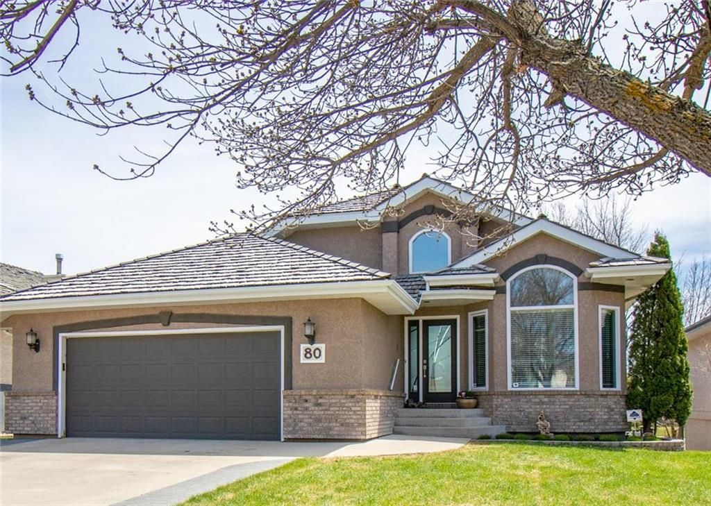 Main Photo: 80 Vanderbilt Drive in Winnipeg: Whyte Ridge Residential for sale (1P)  : MLS®# 202010810