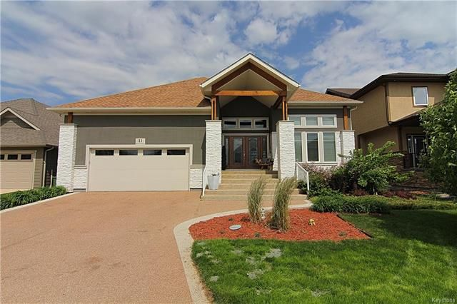Main Photo: 11 Hunterbrook Road | Bridgwater Forest Winnipeg