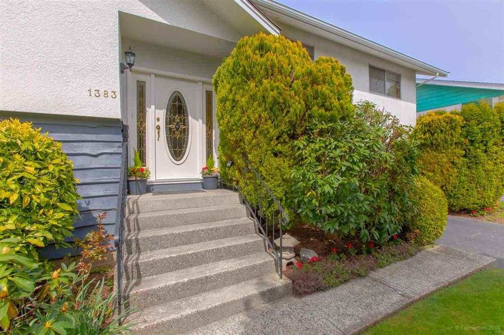 """Main Photo: 1383 GROVER Avenue in Coquitlam: Central Coquitlam House for sale in """"CENTRAL COQUITLAM"""" : MLS®# R2392171"""