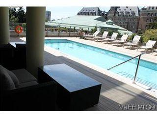 Photo 3: 1008 707 Courtney St in VICTORIA: Vi Downtown Condo for sale (Victoria)  : MLS®# 561108