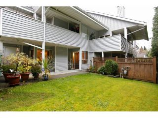 """Photo 1: 25 1235 JOHNSON Street in Coquitlam: Canyon Springs Townhouse for sale in """"CREEKSIDE PLACE"""" : MLS®# V1035997"""