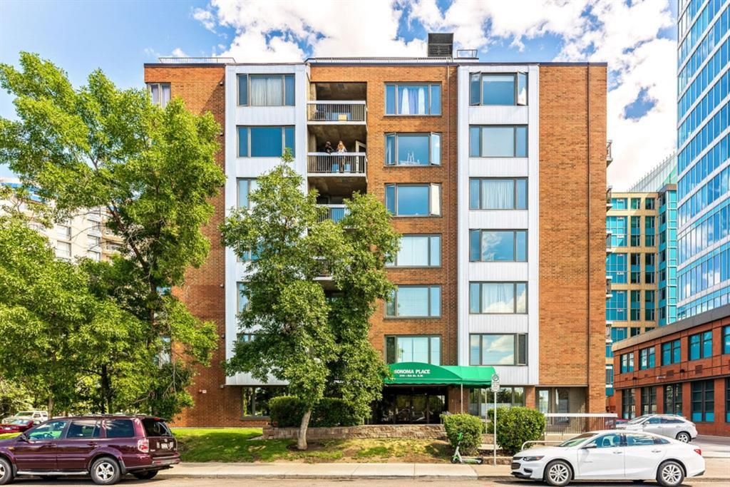 Main Photo: 460 310 8 Street SW in Calgary: Eau Claire Apartment for sale : MLS®# A1022448