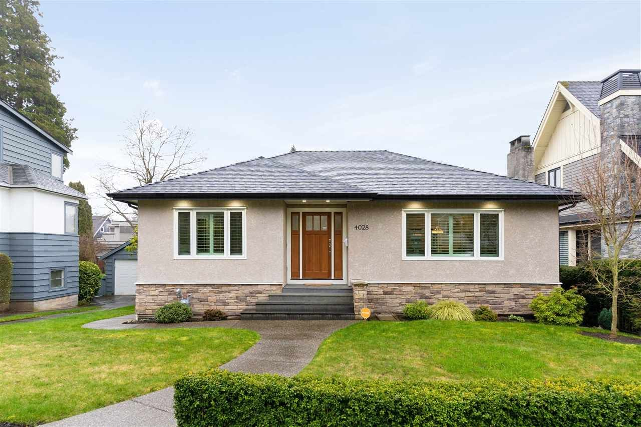 Main Photo: 4028 W 36TH Avenue in Vancouver: Dunbar House for sale (Vancouver West)  : MLS®# R2440611