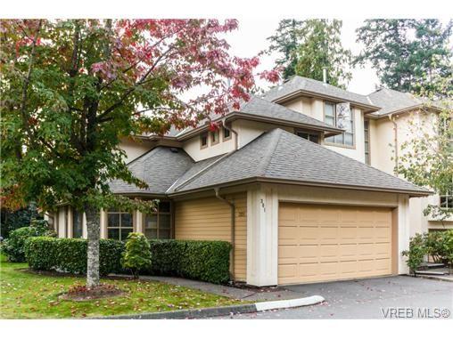 Main Photo: 301 510 Marsett Pl in VICTORIA: SW Royal Oak Row/Townhouse for sale (Saanich West)  : MLS®# 684520