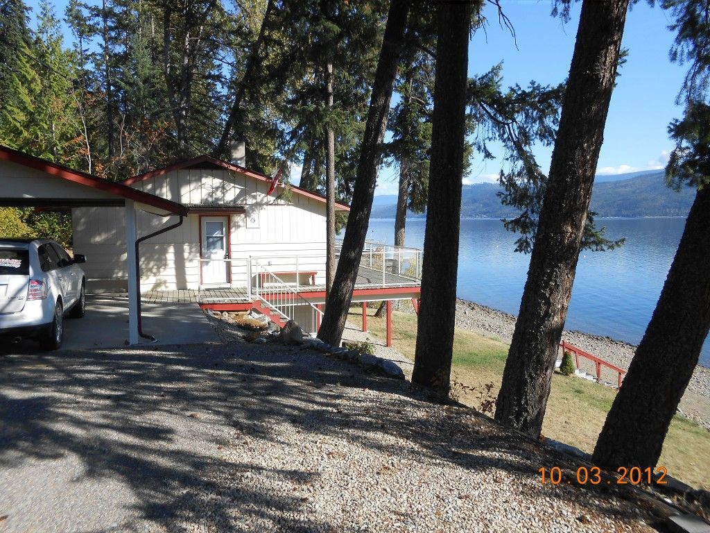 Main Photo: 4976 Squilax Anglemont Road in Celista: North Shuswap House for sale (Shuswap)  : MLS®# 10055186