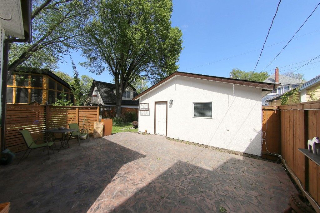 Photo 29: Photos: 481 Raglan Road in Winnipeg: WOLSELEY Single Family Detached for sale (West Winnipeg)  : MLS®# 1515021