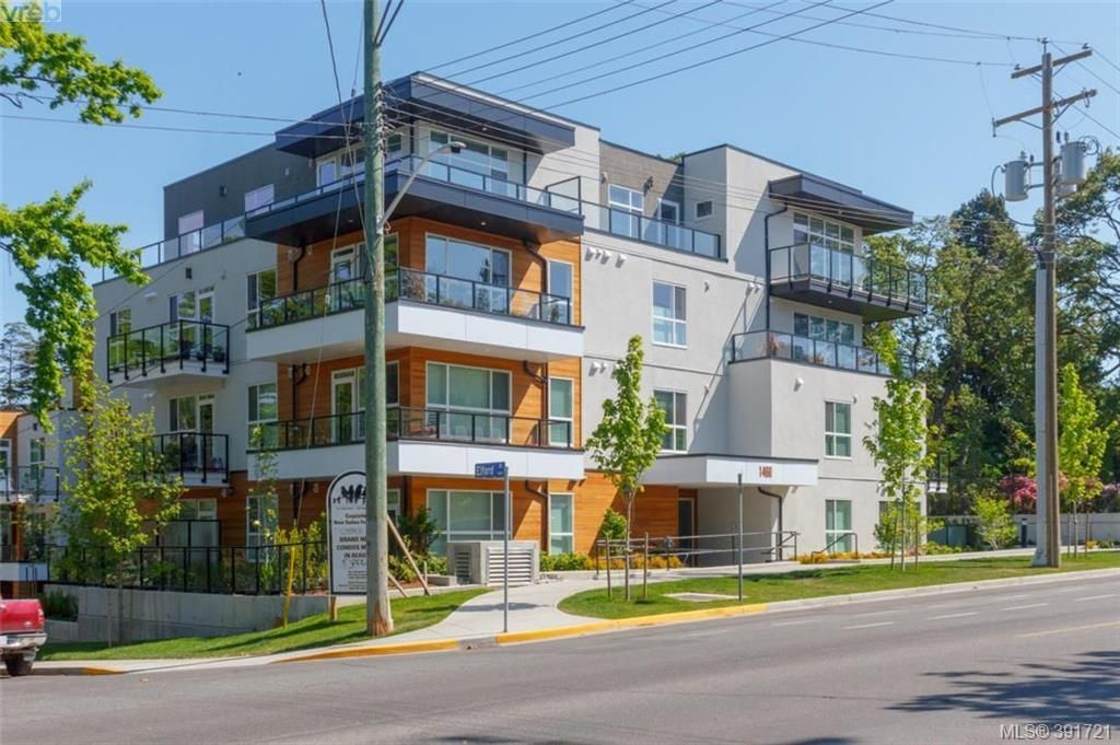 Main Photo: 204 1460 Pandora Ave in VICTORIA: Vi Fernwood Condo for sale (Victoria)  : MLS®# 787376