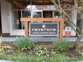 "Photo 1: 221 12350 HARRIS Road in Pitt Meadows: Mid Meadows Condo for sale in ""KEYSTONE"" : MLS®# R2206195"