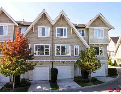 "Main Photo: 20540 66TH Ave in Langley: Willoughby Heights Townhouse  in ""Amberleigh"" : MLS®# F2622339"