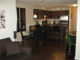 "Photo 1: 104 4768 BRENTWOOD Drive in Burnaby: Brentwood Park Condo for sale in ""THE HARRIS"" (Burnaby North)  : MLS®# V873363"