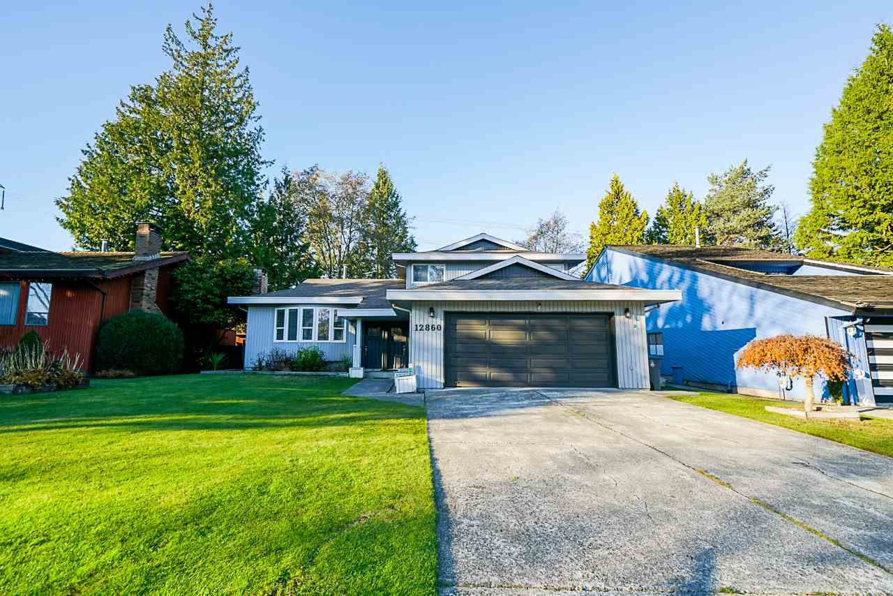 Photo 1: Photos: 12860 CARLUKE Crescent in Surrey: Queen Mary Park Surrey House for sale : MLS®# R2516199