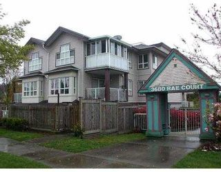 """Photo 1: 405 3680 RAE AV in Vancouver: Collingwood Vancouver East Condo for sale in """"RAE COURT"""" (Vancouver East)  : MLS®# V553030"""