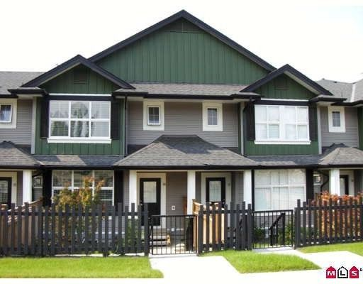 """Main Photo: 16 18199 70TH Avenue in Surrey: Cloverdale BC Townhouse for sale in """"Augusta"""" (Cloverdale)  : MLS®# F2905199"""