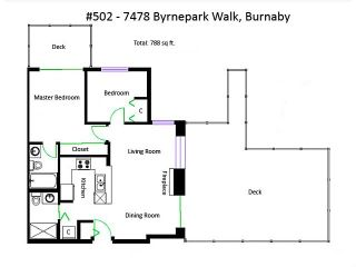 "Photo 17: 502 7478 BYRNEPARK Walk in Burnaby: South Slope Condo for sale in ""GREEN"" (Burnaby South)  : MLS®# V1056638"