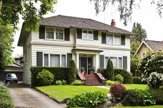 Photo 1: 5846 ANGUS Drive in Vancouver: South Granville House for sale (Vancouver West)  : MLS®# R2405199