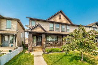 Photo 1: 10 Luxstone Point SW: Airdrie Semi Detached for sale : MLS®# A1146680