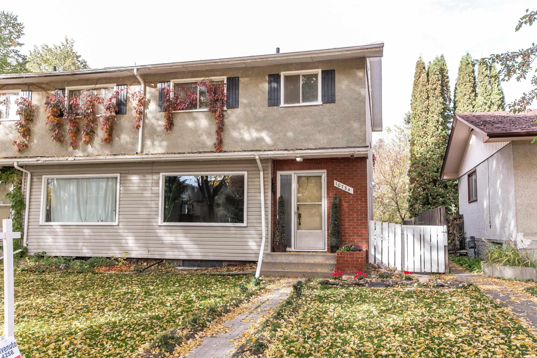 Main Photo: 10734 70 Avenue in Edmonton: Zone 15 House Half Duplex for sale : MLS®# E4264196