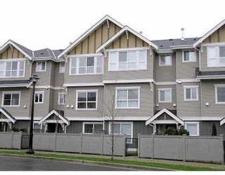"""Photo 1: 14 7833 HEATHER ST in Richmond: McLennan North Townhouse for sale in """"BELMONT"""" : MLS®# V536702"""