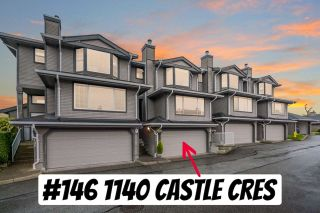 "Main Photo: 146 1140 CASTLE Crescent in Port Coquitlam: Citadel PQ Townhouse for sale in ""The Uplands"" : MLS®# R2566062"