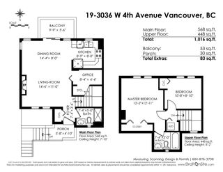 "Photo 4: 19 3036 W 4TH Avenue in Vancouver: Kitsilano Townhouse for sale in ""SANTA BARBARA"" (Vancouver West)  : MLS®# R2315850"