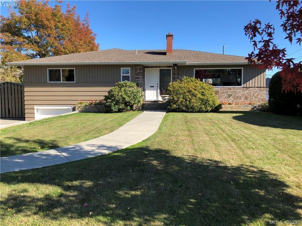 Main Photo: 3489 Henderson Rd in VICTORIA: OB Henderson House for sale (Oak Bay)  : MLS®# 805345