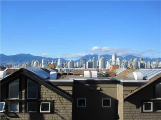 """Photo 9: 1167 W 8TH Avenue in Vancouver: Fairview VW Townhouse for sale in """"FAIRVIEW 2"""" (Vancouver West)  : MLS®# V849137"""
