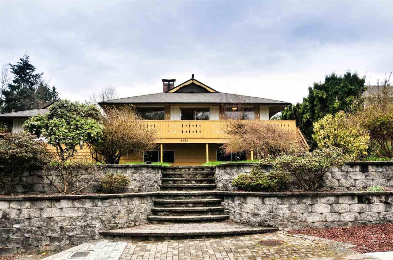 """Main Photo: 5683 EGLINTON Street in Burnaby: Deer Lake Place House for sale in """"DEER LAKE PLACE"""" (Burnaby South)  : MLS®# R2155405"""