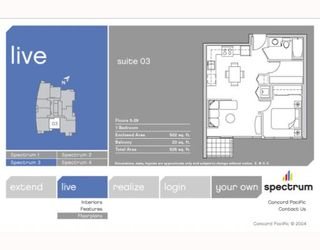 """Photo 5: 703 131 REGIMENT Square in Vancouver: Downtown VW Condo for sale in """"SPECTRUM"""" (Vancouver West)  : MLS®# V786858"""