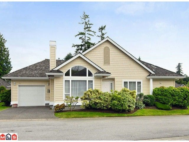 """Main Photo: 27 1881 144TH Street in Surrey: Sunnyside Park Surrey Townhouse for sale in """"Brambley Hedge"""" (South Surrey White Rock)  : MLS®# F1119123"""