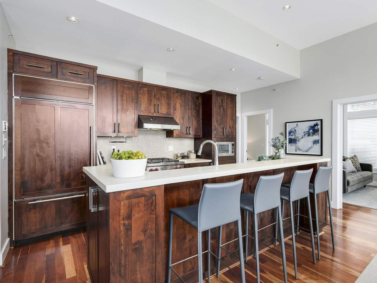 """Photo 6: Photos: 404 6328 LARKIN Drive in Vancouver: University VW Condo for sale in """"Journey"""" (Vancouver West)  : MLS®# R2146632"""
