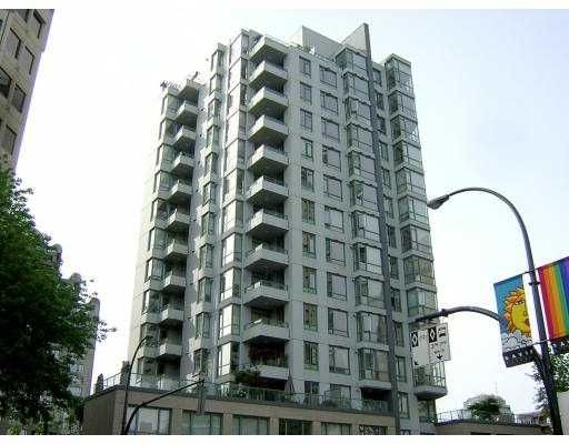 """Main Photo: 1307 1238 BURRARD ST in Vancouver: Downtown VW Condo for sale in """"ALTEDINA"""" (Vancouver West)  : MLS®# V597587"""