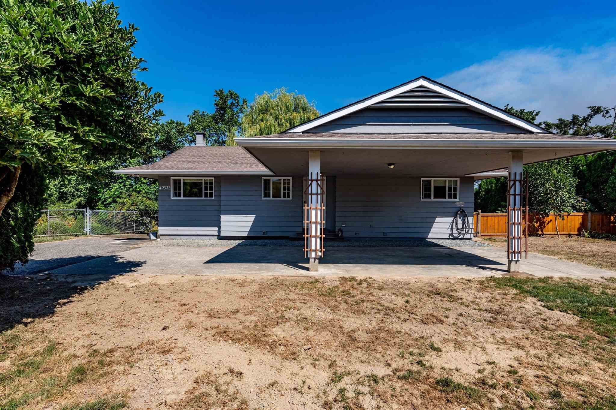 Main Photo: 49331 YALE Road in Chilliwack: East Chilliwack House for sale : MLS®# R2605420