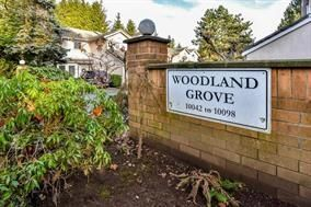 """Photo 1: 2 10062 154TH Street in Surrey: Guildford Townhouse for sale in """"Woodland Grove"""" (North Surrey)  : MLS®# R2245300"""