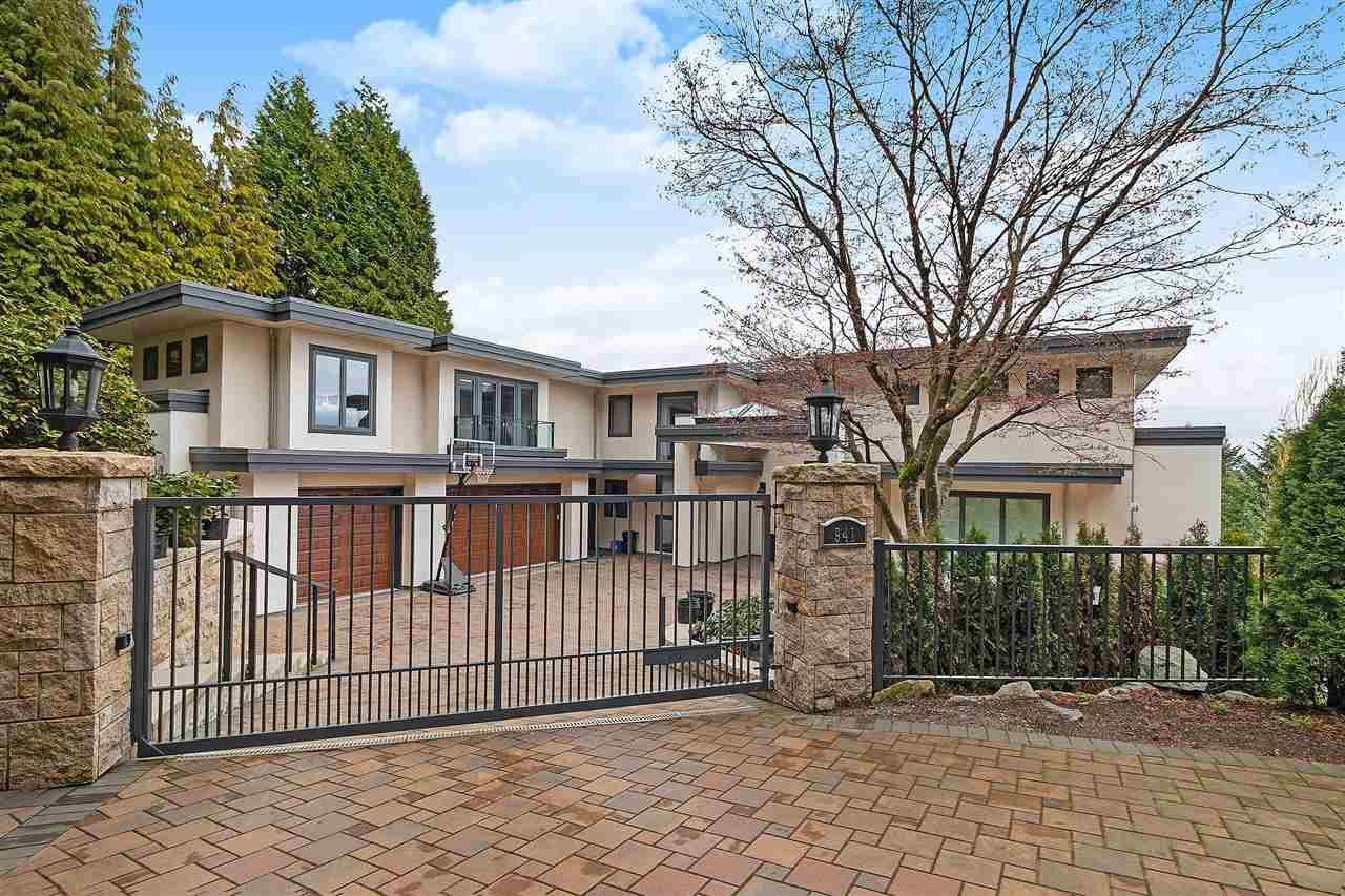 Main Photo: 941 EYREMOUNT DRIVE in West Vancouver: House for sale : MLS®# R2526810