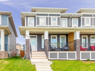 Photo 1: 600 Evanston Link NW in Calgary: Evanston Semi Detached for sale : MLS®# A1026029