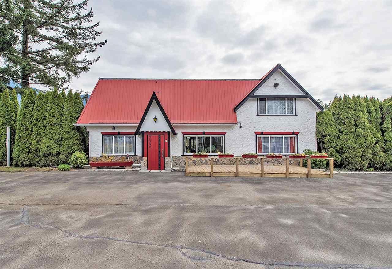 Main Photo: 50380 YALE Road in Rosedale: Rosedale Popkum House for sale : MLS®# R2446021