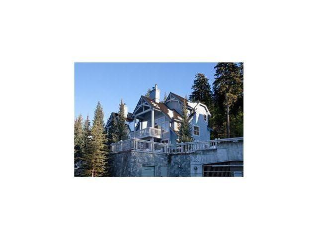 "Main Photo: 6 4661 BLACKCOMB Way in Whistler: Benchlands Townhouse for sale in ""TREELINE"" : MLS®# V1127525"