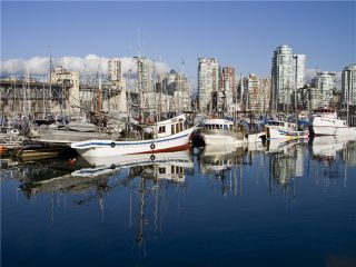 """Photo 7: 101 1550 MARINER Walk in Vancouver: False Creek Condo for sale in """"MARINER POINT"""" (Vancouver West)  : MLS®# V976624"""