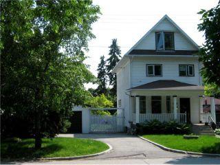 Photo 1: 1002 PALMERSTON Avenue in WINNIPEG: West End / Wolseley Residential for sale (West Winnipeg)  : MLS®# 1012463