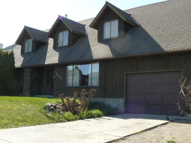 Main Photo: 2457 QU'APPELLE Boulevard in Kamloops: Juniper Heights House for sale : MLS®# 161794